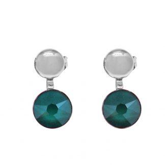 Boucles d'oreilles Bohm Cristal vert Swarovski®